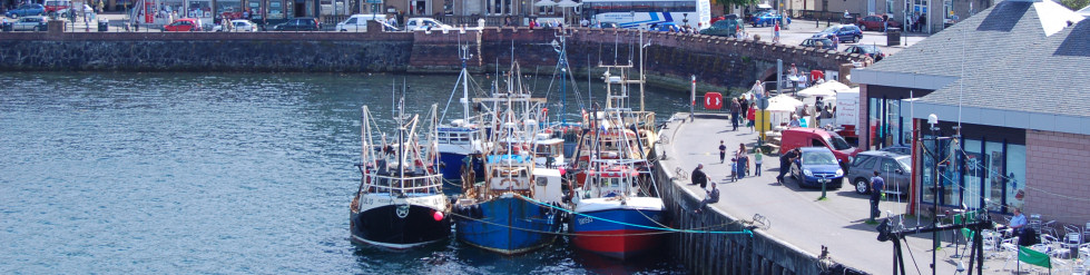Oban Bay Fishing Boats